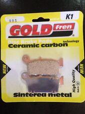 SUZUKI RM 250 RM250 1996-2008 Gold fren plaquette frein arrière