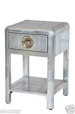 Aviator SideTable with 1 drawer