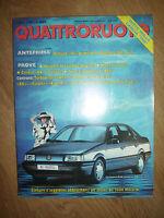 QUATTRORUOTE - N.390 APRILE 1988 - VOLKSWAGEN PASSAT (OK)
