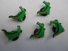 5 x CROCODILE suitable for Crocs Croc Jibbitz