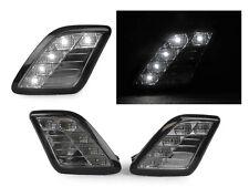 White LED Smoke Bumper Side Marker Light For 2012-2014 Mercedes W218 CLS63 AMG