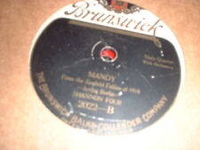 78RPM Cameo 2022 Shannon Four, Mandy, Charles Hart, Oh What a Pal Was Mary Poor