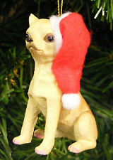PET COLLECTION LIMITED EDITION HANDPAINTED CHIHUAHUA DOG CHRISTMAS TREE ORNAMENT