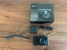 Sony Cyber-shot DSC-RX100 II 20.2MP Digital Camera with 64GB memory card