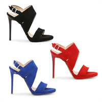 ARNALDO TOSCANI Scarpe donna sandali scamosciati vari colori blu-rosso-nero DD