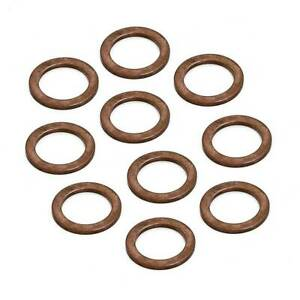 10X Oil Drain Plug Washers For Mercedes BENZ Replace 007603-014106