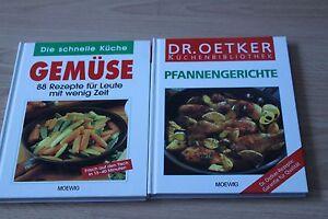 2 Kochbücher Gemüse und Pfannengerichte