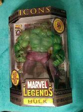 "ToyBiz Marvel Legends Icons 12"" Green Hulk 2006"