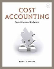 Cost Accounting: Foundations and Evolutions by Kinney Raiborn 9TH EDITION