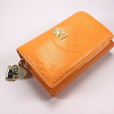 Samantha Thavasa Japan Disney Nightmare Before Christmas Orange Leather Wallet