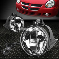 For 03-05 Dodge Neon Clear Lens Front Bumper Driving Fog Light Lamps W/Switch (Fits: Neon)