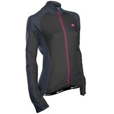 SUGOI MEN/'S NEO LONG SLEEVE FULL ZIP WARM CYCLING CYCLE JERSEY TOP S-M BN