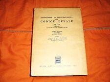 esposizione di giurisprudenza sul codice penale libri 2° tit 9-13  e 3° dal 1964