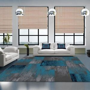 Modern Contemporary Blended Floor Rugs Carpets High Quality All Sizes 14 mm pile