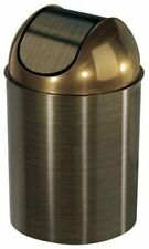 Durable Swing-Top Waste Can, 2.5-Gallon 10 L