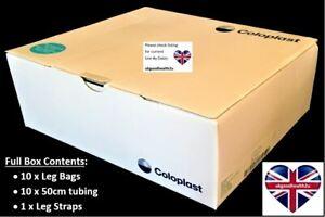 Coloplast Simpla Profile Urine Collection Leg Bag 21584 FULL BOX of 10