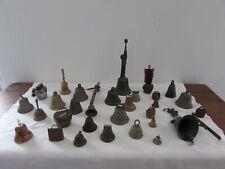 gros lot de 30 cloches anciennes et plus récentes
