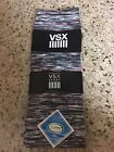 BNWT Victoria's Secret VSX Sport Socks Black / Multi Color Knee High One Size