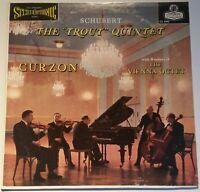 Schubert Forellen-Quintett Trout Curzon Vienna Octet LONDON ffrr Stereo CS 6090