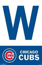CHICAGO CUBS - W POSTER - 22x34 MLB BASEBALL 15338