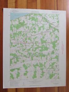 East Springfield Pennsylvania 1960 Original Vintage USGS Topo Map