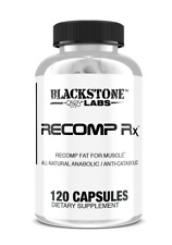 Blackstone Labs RECOMP RX 120caps ALL NATURAL ANABOLIC ANTI-CATABOLIC - BURN FAT
