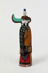 Zuni Kachina / Katsina Doll: Zuni  Longhorn with Firegod by Roderick Quam
