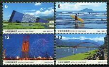 Taiwan 2019 Scenery Yilan County 4v Set Bridges Architecture Stamp