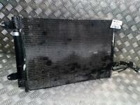 Audi A3 8P 2003 To 2008 Air Con Conditioning Condenser 2.0 Diesel 1K0298403A OEM
