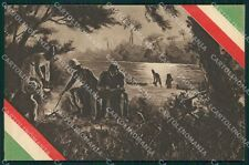 Militari Coloniali Africa Tricolore Ascari cartolina XF2989
