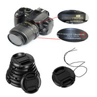 49-58MM Camera Snap-on Front Lens Cap Cover For Canon Nikon Sony Pentax Olympus
