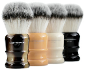 Maseto Castle 4-Color 24&26mm High-end Silvertip Synthetic Shaving Brush !!!
