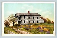 Mayville NY, Button's Inn Tavern, Old Portage Road Vintage New York Postcard A98