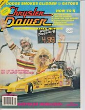 CHRYSLER POWER AND PERFORMANCE MOPARS MAGAZINE JULY/1989..KENNY YOUNGBLOOD ART