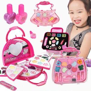Kids Cosmetics Safe Washable Makeup Set Kids Princess Beauty Pretend Play Toys