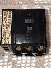 Square D Qo325 3 Pole 240 V 1.2 Amp. Shunt Trip Circuit Breaker