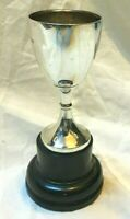 Vintage Sterling Silver Trophy Cup Goblet Blank Not Engraved Hallmarked 1928