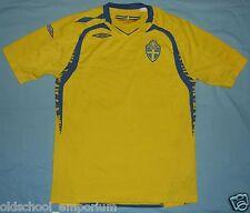 SWEDEN / 2008-2009 Home - UMBRO - vintage JUNIOR Shirt / Jersey. Size: 158 cm