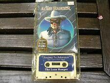 275) Vntig Lone Ranger Cassette Best Of Old Time Radio Journey To Adventure 1978