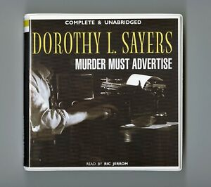 Murder Must Advertise: Dorothy L. Sayers - 10CDS - Unabridged Audiobook  Chivers