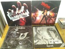 """JUDAS PRIEST  lot of 4 """"British Steel"""" ,tyrant,best off, unleashed in the east"""