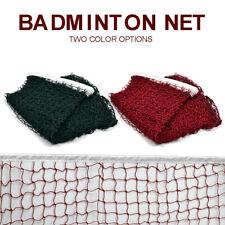 Standard Tennis Net Outdoor Indoor Sports Training Badminton Volleyball Mesh NEW