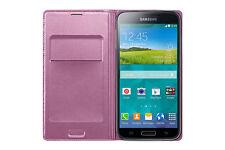 Etui housse coque à rabat Rose original Samsung - Galaxy S5