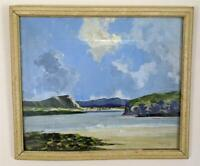 WILLIAM JACKSON RUA Oil Painting IRISH COASTAL LANDSCAPE - 20TH CENTURY