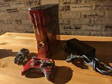 Microsoft Xbox 360 S Gears of War 3 Limited Edition 320GB Red & Black Console ..