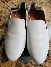 Halogen(R) Sylvia Flat Collapsible Loafer/Mule White Size 8