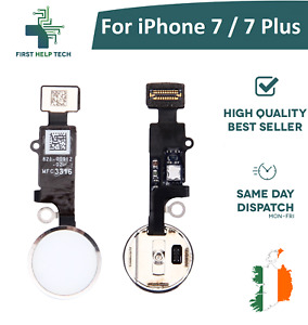 For iPhone 7 / iPhone 7 Plus Home Button Fingerprint Touch ID Flex Cable White