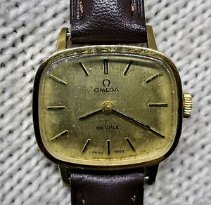 Genuine Omega De Ville Cal 625 511.0413 Vintage Ladies Manual Watch Swiss Made