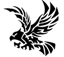 EAGLE BLACK CUT OUT ,BIRDS,ANIMALS, CAR DECAL STICKER