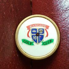 New listing Ramside Golf Club Ball Marker (Vintage Brass)